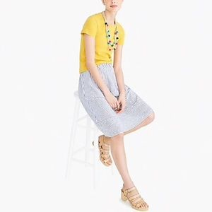 J. Crew Studio Tee in Yellow
